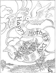 mothers day coloring pages free animals coloring pages