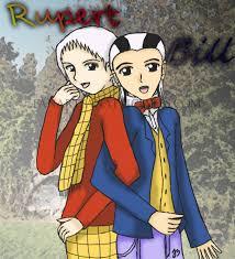 rupert bear anime style arima ko deviantart