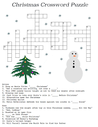 christmas crossword clues u0026 but donu0027t peek unless you have to