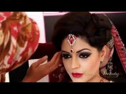 indian stani asian bridal makeup videos full hd tutorial step