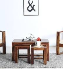 Coffee Table Set Coffee Table Sets Buy Wooden Coffee Table Sets Online In India