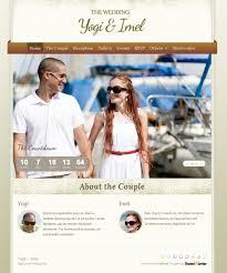 le site du mariage 12 sources d inspirations pour créer un site pour mariage