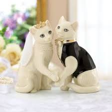 cat wedding cake topper wedding cake topper cats and groom animal lover kitties