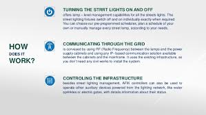 how do street lights work smart city platform afik group