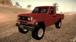 land cruiser pickup toyota land cruiser pick up macho 2007 4 500 original for gta san