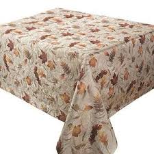autumn harvest table linens amazon com benson mills natures leaves jacquard printed fabric