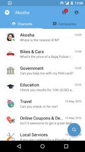 android tech support india s akosha bags 16m to build whatsapp for customer support