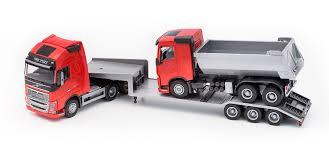 volvo trailer emek 33715 volvo fh16 trailer and gravel truck robbis hobby shop