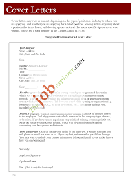 Writing A Cover Letter For Resume Resume Cover Letter Template 40 Best Cover Letter Examples Images