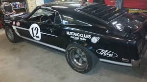 ford mustang race cars for sale one of the rarest 1969 ford mustangs race car for sale