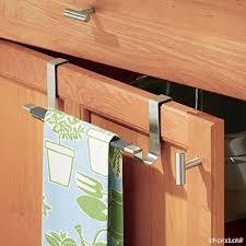 cuisine pratique et facile mdesign porte serviettes sans perçage pour la cuisine barre