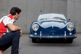 first porsche 356 mark webber a day at the museum