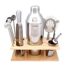barware sets 14pcs bar barware kit sets stainless steel shaker corkscrew
