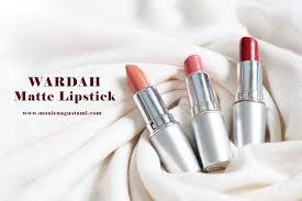 Wardah Matte Lipstick review wardah matte lipstick buat si bibir hitam makeup by