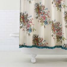 Vintage Shower Curtain 301 Moved Permanently Victorian Floral Shower Curtain World