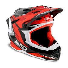 sixsixone motocross helmet answer racing 2015 faze bmx helmet red black available at