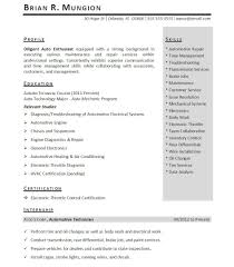 Objective In A Resume For Internship Science Resume For Internship With Allison Sharvein Zhao
