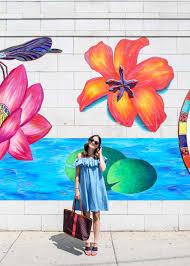 chicago murals street art locations flower mural chicago