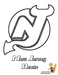new jersey devils nhl hockey printables lincoln pinterest