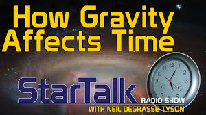 How Does Gravity Light Work Neil Degrasse Tyson Explains How Gravity Affects Time Youtube