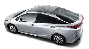 for toyota u s won t get solar roof option for toyota prius prime right away