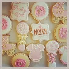 Shabby Chic Baby Shower Cakes by Custom Cookies Cupcakes And Cake Shabby Chic Baby Shower Cookies