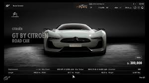 citroen supercar citroën gt by citroën road car gran turismo sport car list