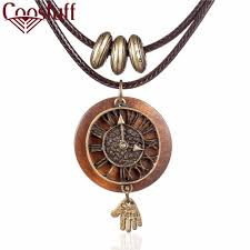 wood pendants necklace images Wooden pendant watch shoppers bar jpg
