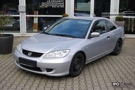 2005 honda civic specs 2005 honda civic coupe 1 7 ls car photo and specs