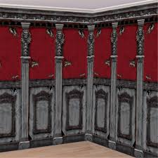 haunted mansion stairway door decoration by amscan halloween