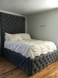 Air Mattress With Headboard Raised Mattress Frame Instavite Me