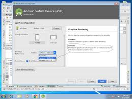 android snapshot android snapshot and use host gpu options missing from avd