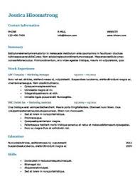 Format Resume Sample by Ats Friendly Resume Templates Format 27 Samples