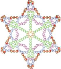 free bead patterns and ideas snowflake 34 ornament pattern