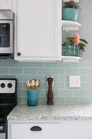 how to hang a tile bar glass subway tile kitchen backsplash