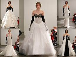 wedding dress designer vera wang vera wang goes black and white for 2014 eco beautiful