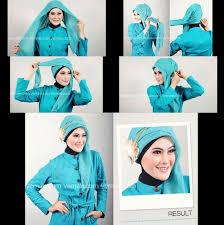 tutorial hijab resmi tutorial hijab waroeng nyaii ertrich shop