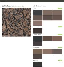Valspar Paint For Cabinets by Baltic Brown Granite Countertops Countertops Msi Stone Behr