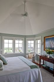plymouth rock benjamin moore bedroom beach style with blue and