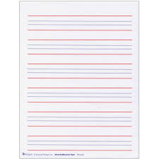 free blank writing paper maxiaids raised line writing paper red and blue lines package raised line writing paper red and blue lines package of 50