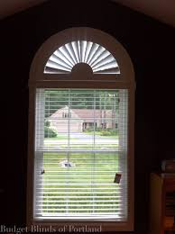 cover it moveable arch with wood blind wood blinds pinterest