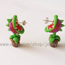 creative earrings shop mario earrings on wanelo