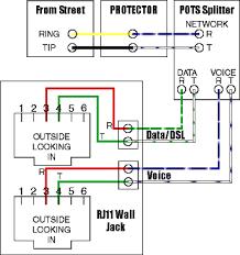 dsl splitter wiring diagram dsl wiring diagrams instruction