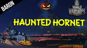 haunted hornet aircraft carrier world of warships phantom