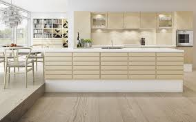 form 1 white pigmented maple kitchen with a corian countertop