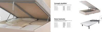 carrefour canapé catálogo de bases canapés carrefour 2018 sudormitorio com