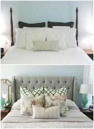 the proper way to make a bed headboard retrofit bean in love