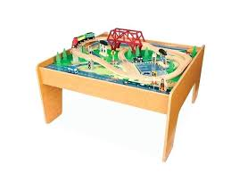 imaginarium classic train table with roundhouse toys r us wooden train table express right now at you set
