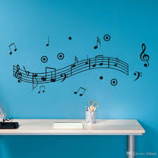 Remove Wall Stickers Cheap Music Notes Murals For Walls Free Shipping Music Notes