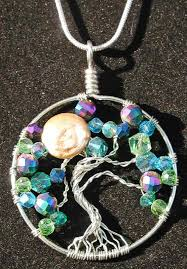 making glass necklace pendants images Tree of life pendant necklaces multimedia artwork by joyce jackson jpg